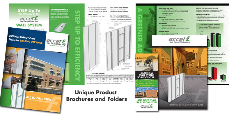 9×12 Folder and Company Brochure