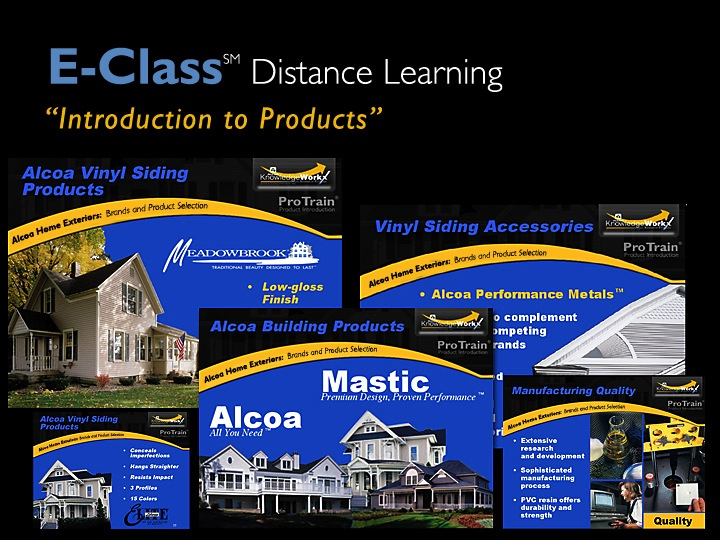 Distance Learning – click here to view example
