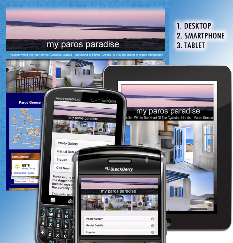 Real Estate Property – website and mobile app