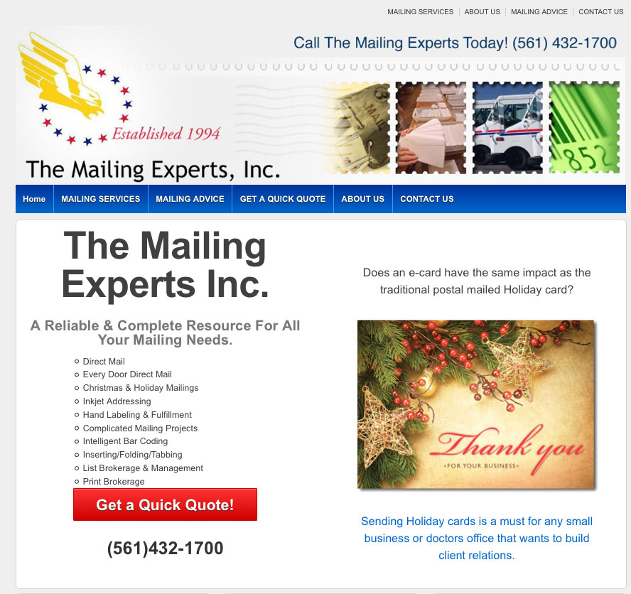 The Mailing Experts